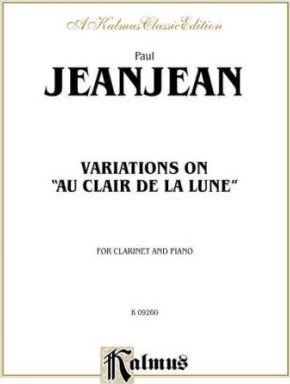Variations on Au Clair de la Lune  Part(s)