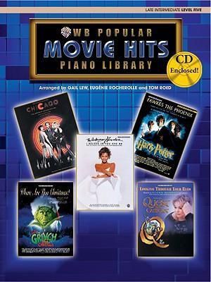 Popular Piano Library Movie Hits  Level 5, Book, CD & General MIDI Disk