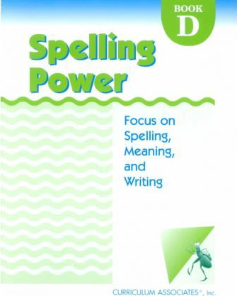 Spelling Power Book D
