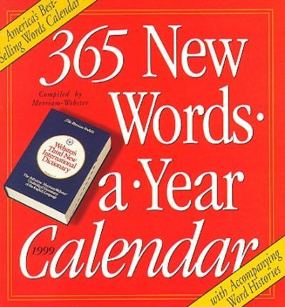 New Words Calendar 1999