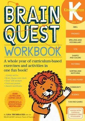 Brain Quest Kindergarten Workbook