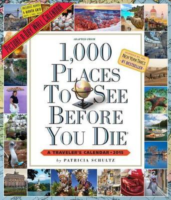 1000 Places To See Before You Die Calendar