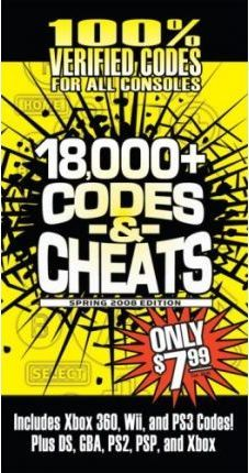 Cheat Codes Book