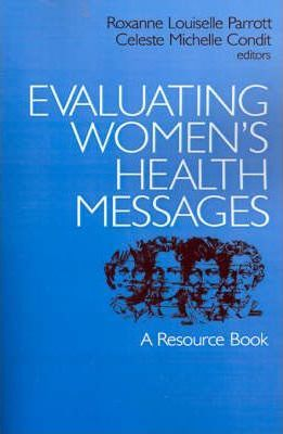 Evaluating Women's Health Messages  A Resource Book