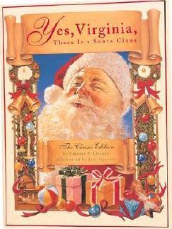 """Image result for Yes Virginia, there is a Santa Claus"""""""