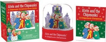Alvin And The Chipmunks Christmas.Alvin And The Chipmunks A Chipmunk Christmas Snow Globe