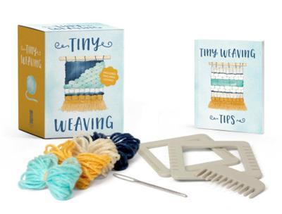 Tiny Weaving  Includes Two Mini Looms!