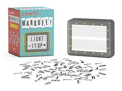 Itty Bitty Marquee : Light It Up!