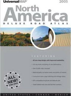 North America Atlas 2005