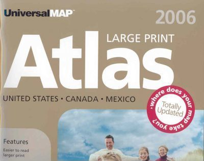 Universal Map 2006 United States, Canada, Mexico Atlas