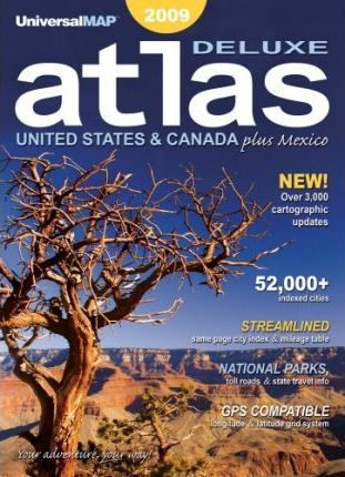 North America Atlas GPS 2009