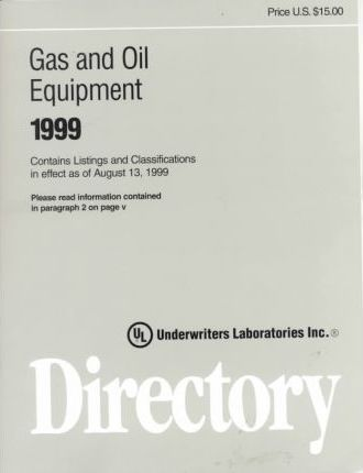 Gas and Oil Equipment Directory 1999