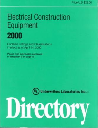 Electrical Construction Equipment Directory 2000
