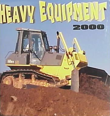 Heavy Equipment 2000 Calendar