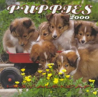 Puppies 2000 Mini Calendar