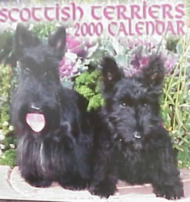 Scottish Terriers 2000 Calendar
