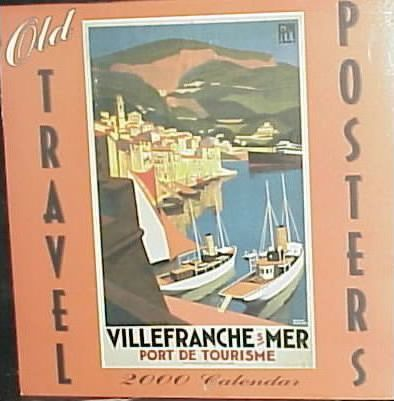 Old Travel Posters 2000 Calendar