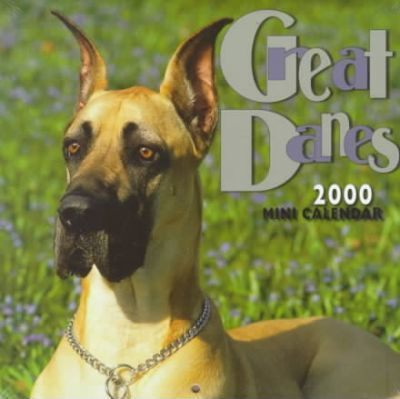 Great Danes 2000 Mini Calendar