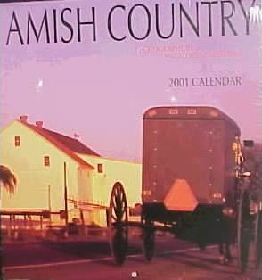 Amish Country 2001 Calendar