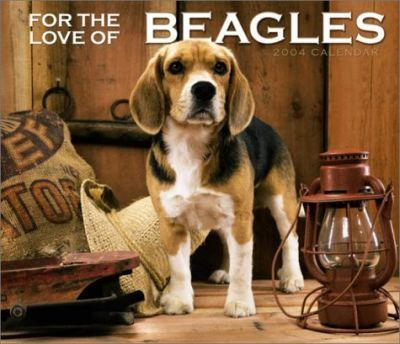 For the Love of Beagles Deluxe Wall Calendar: 2004