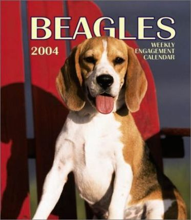 Beagles Hardcover Weekly Engagement Calendar: 2004