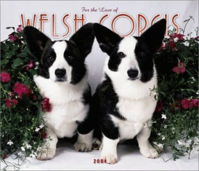 For the Love of Welsh Corgis Deluxe Wall Calendar: 2004
