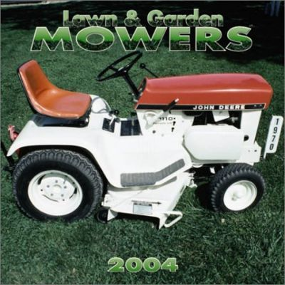 Lawn and Garden Mowers Wall Calendar: 2004