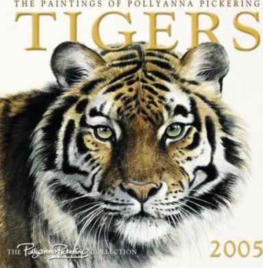 Tigers by Pollyanna Pickering Wall