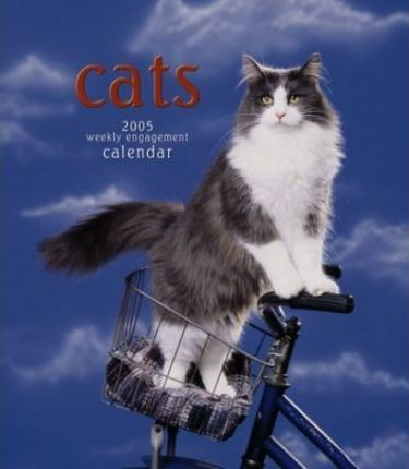 Cats Hardcover Weekly Engagement