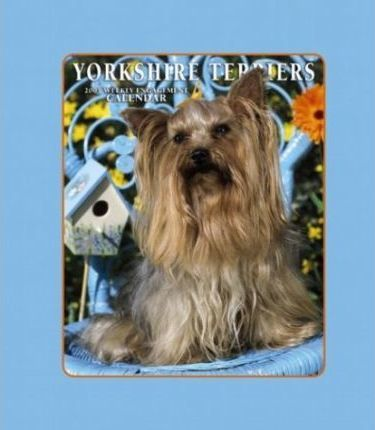 Yorkshire Terriers Hardcover Weekly Engagement