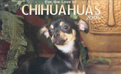 For The Love Of Chihuahuas Deluxe 2006 Calendar
