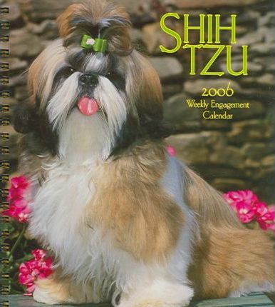 Shih Tzu Weekly Engagement 2006 Calendar
