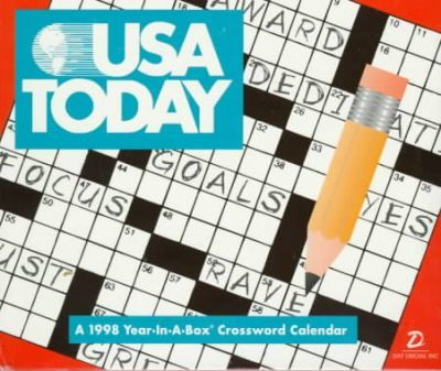 Cal 98 USA Today Year in a Box Crossword