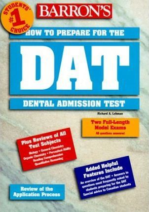 How to Prepare for the Dental Admission Test (DAT)
