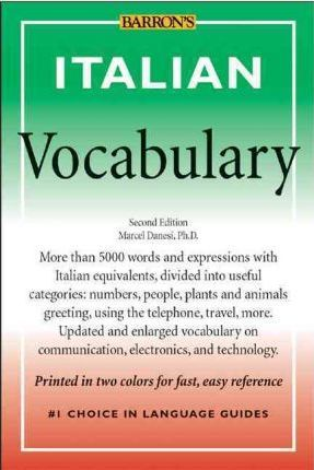 Italian vocabulary marcel danesi 9780764121906 italian vocabulary m4hsunfo