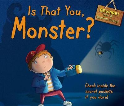 Is That You, Monster? : Check Inside the Secret Pockets If You Dare!