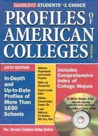 Barron's Profiles of American Colleges 2001