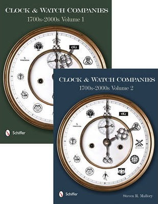 Clock and Watch Companies 1700s-2000s