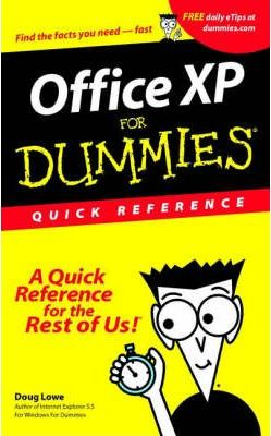 Office XP For Dummies: Quick Reference