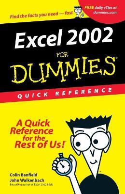 Excel 2002 for Dummies Quick Reference