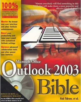 Microsoft Outlook 2003 Bible
