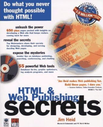 Web Publishing Secrets