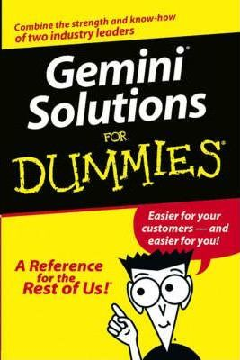 Gemini Solutions For Dummies