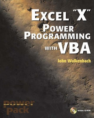 Excel 2003 Power Programming with VBA