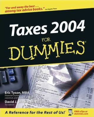 Taxes For Dummies 2004