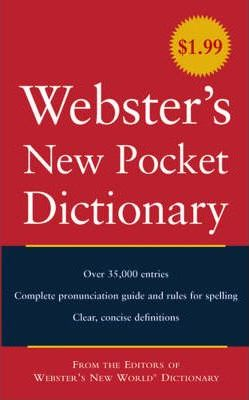Webster's New Pocket American Dictionary