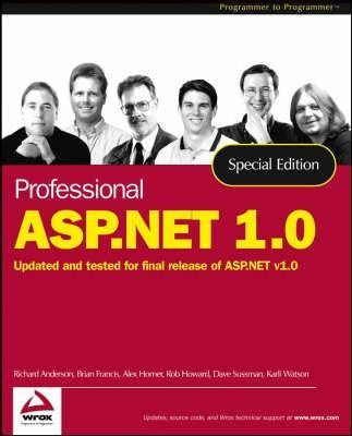 Professional ASP.NET 1.0: Special Edition