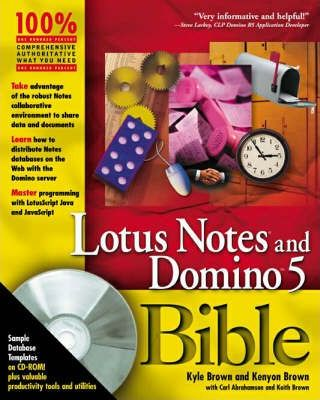 Lotus Notes and Domino 5 Bible