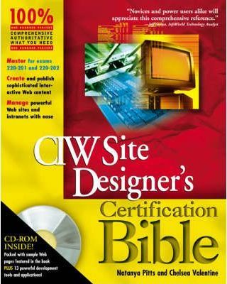 CIW Site Designer Certification Bible