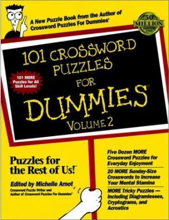 101 Crosswords for Dummies: Vol 1